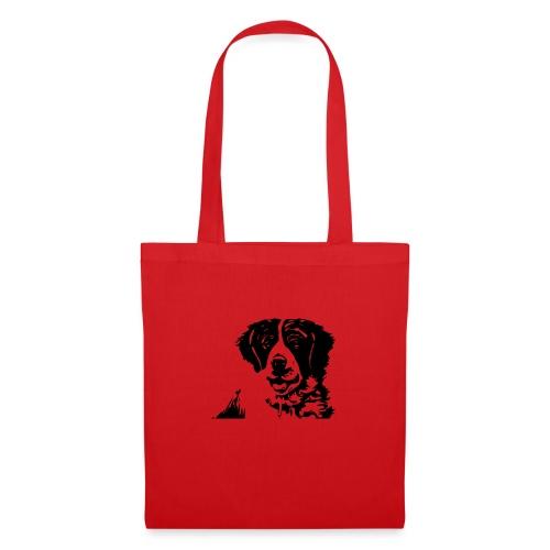 Barry - St-Bernard dog - Stoffbeutel