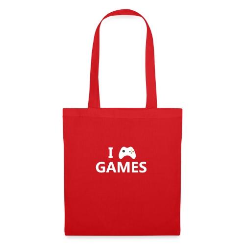 I Love Games 2 - Bolsa de tela