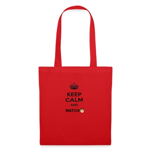 Keep Calm And Watch Anthonyos33 - Tote Bag