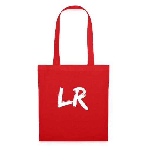 LR logo wit - Tas van stof