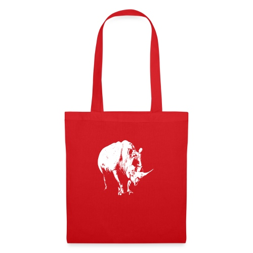 White Rhinoceros (highlights only) - Tote Bag