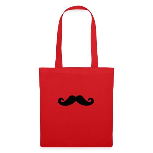 mustache - Stoffveske