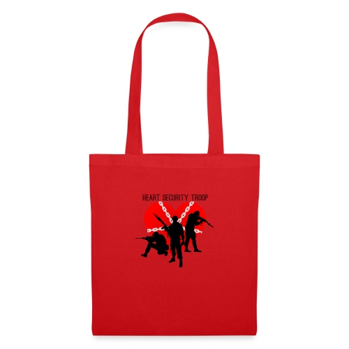 Heart troop - Bolsa de tela
