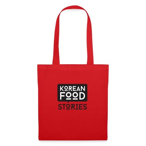 Korean Food Stories LOGO - Stoffbeutel