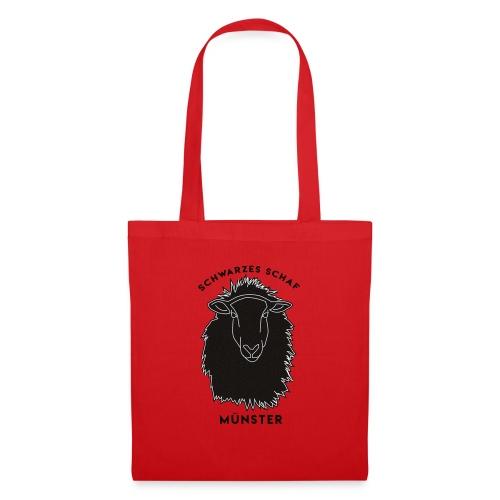 Schwarzes Schaf Logo & Schrift - Stoffbeutel