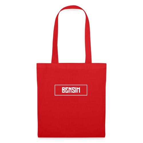 White BenSim Logo - Sac en tissu