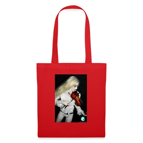 Vampire Violin Gothic Music Fantasy Enchanted - Tote Bag