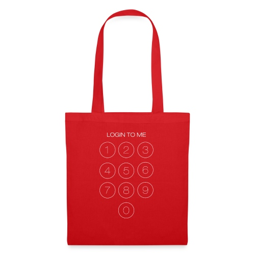 Login to me - Borsa di stoffa