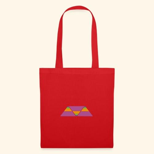 triangulos - Bolsa de tela