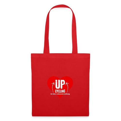 upcycling ist eine Lebenseinstellung - Stoffbeutel