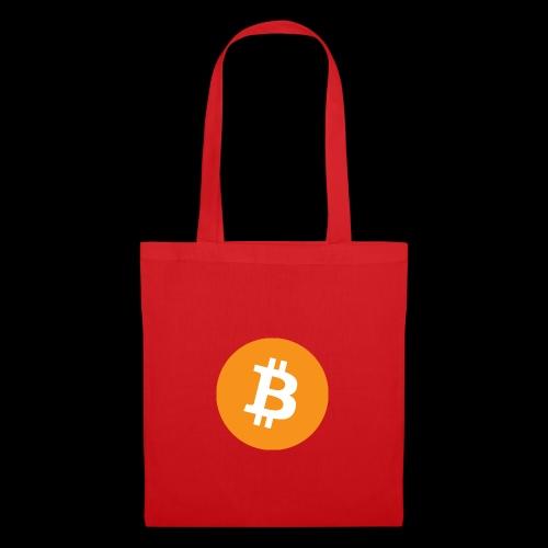 bitcoin logo - Stoffbeutel