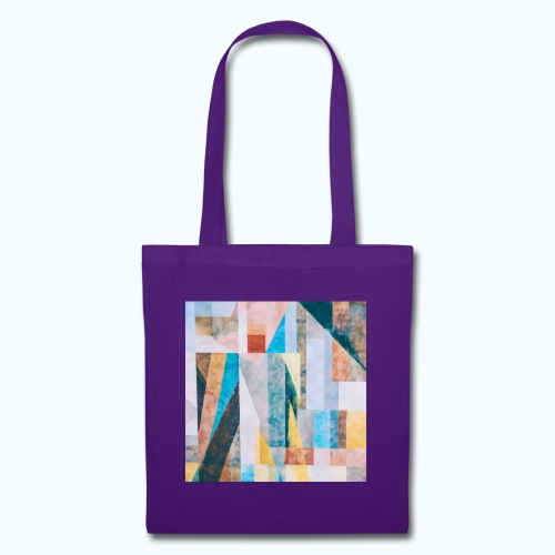 Abstract geometry watercolor - Tote Bag