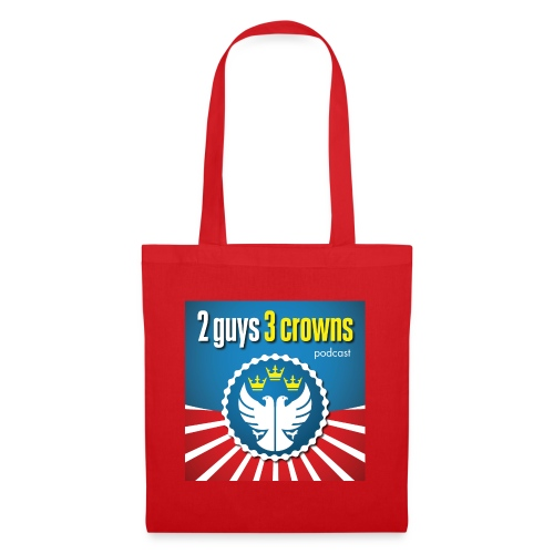 Official 2 Guys 3 Crowns Logo - Tote Bag