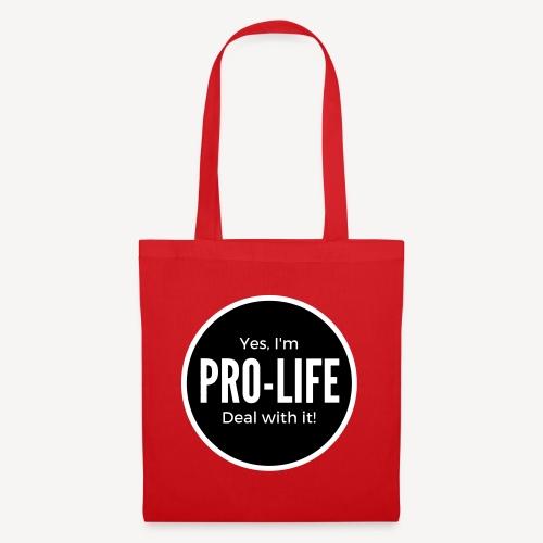YES I'M PRO-LIFE - Tote Bag