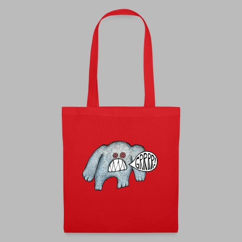 with added GRRRR - Tote Bag