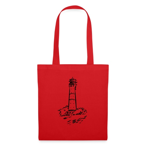 Leuchtturm Hörnum Sylt Art Design - Stoffbeutel