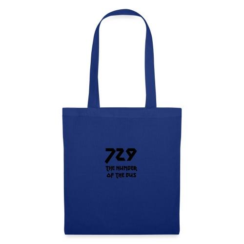 729 grande nero - Borsa di stoffa