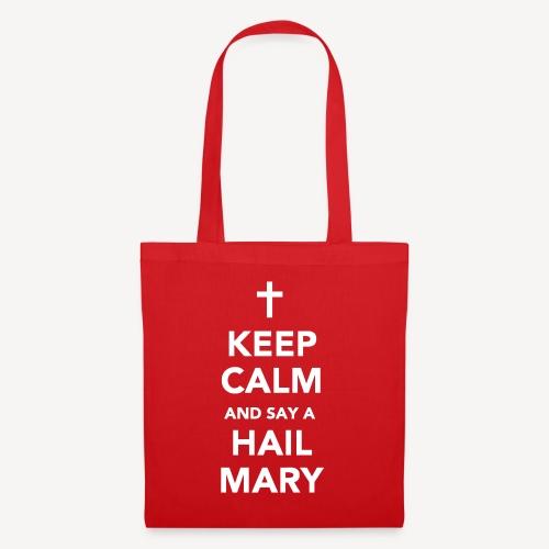 TOTE BAG - KEEP CALM HAIL MARY APRON - Tote Bag