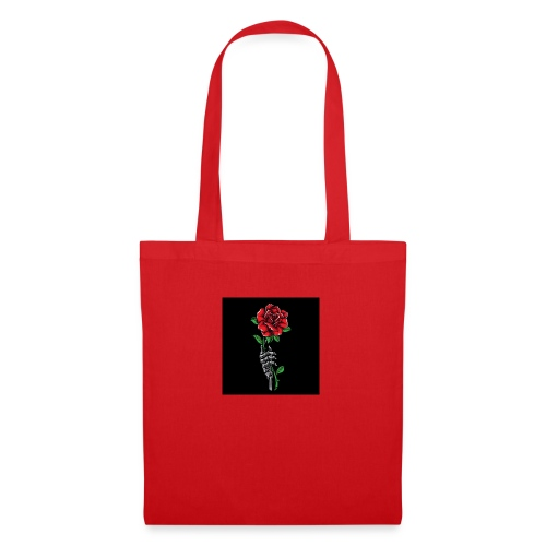 rosas - Bolsa de tela