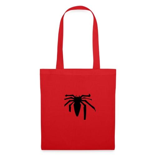 Black spider - Sac en tissu