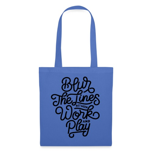 Blur the lines between work and play. - Tote Bag