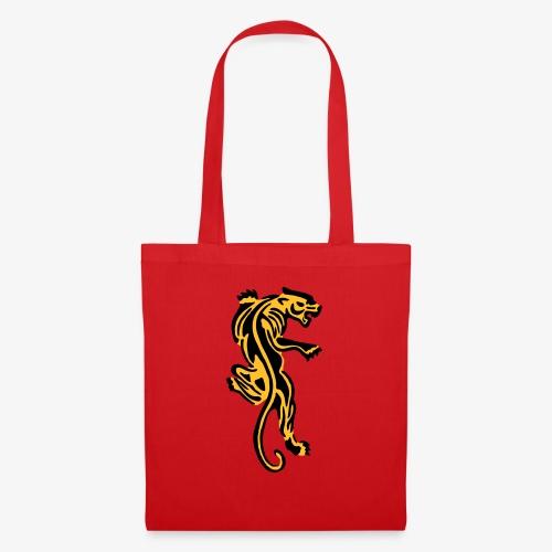 Tiger great cat design by patjila - Tote Bag