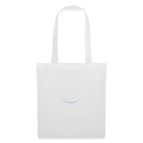 White and white-blue logo - Tote Bag