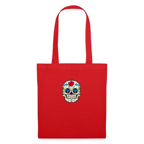 skull2 - Borsa di stoffa