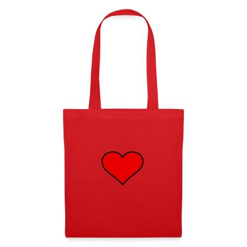 big heart clipart 3 - Tygväska