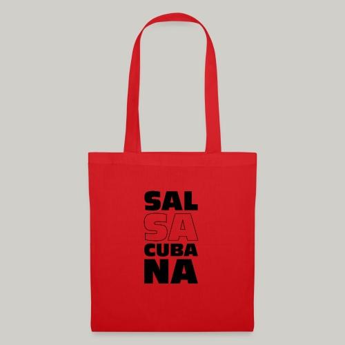 Salsacubana bw - Stoffbeutel