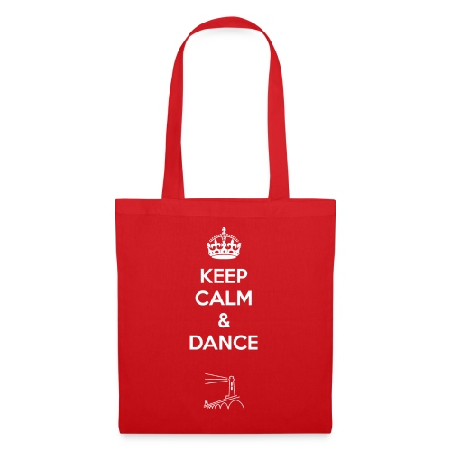Keep calm and dance - Stoffbeutel