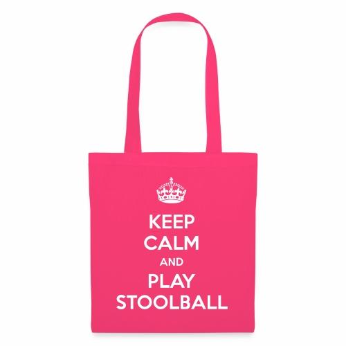 Keep Calm And Play Stoolball - Tote Bag