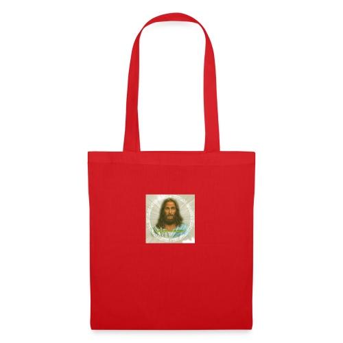 ROSTRO DE JESUS CON CODIGOS SAGRADOS - Bolsa de tela