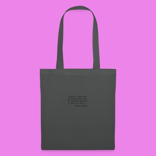 Fashion is what youre offered four times a year by - Tote Bag