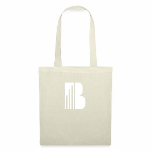 Bricks and the City (white logo) - Borsa di stoffa