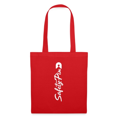Verticle SafetyPin - Tote Bag