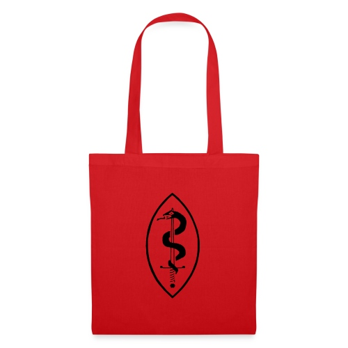 School of Mars Crest (Black) - Tote Bag