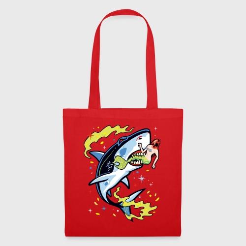 Requin mangeur de sirène - Tote Bag