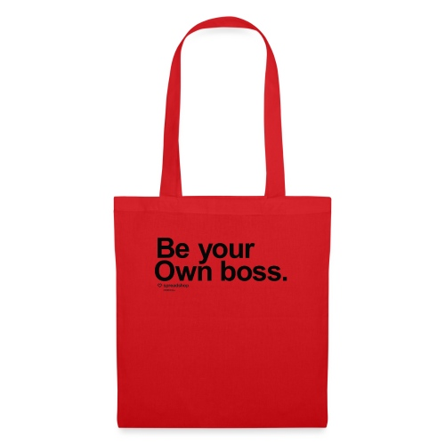 Boss in black - Tote Bag