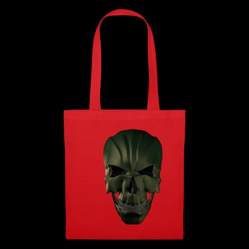 Grim Skull 3D - Torba materiałowa