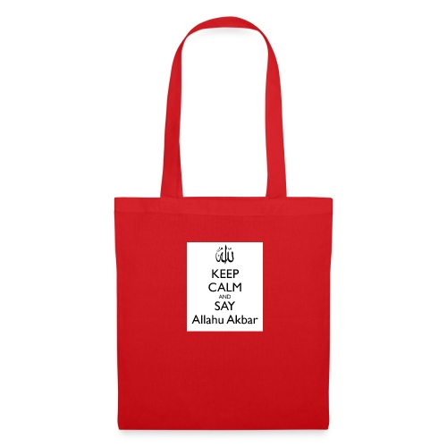 keep-calm-and-say-allahu-akbar - Stoffbeutel