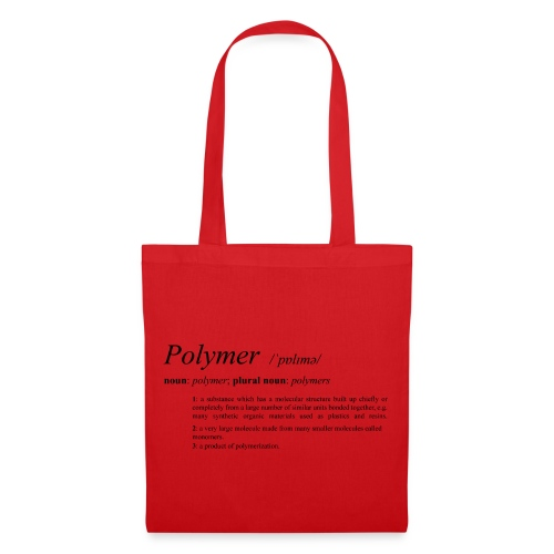 Polymer definition. - Tote Bag