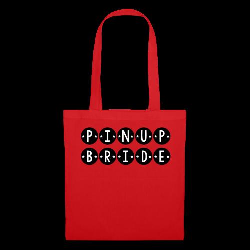 Pinup Bride (Black) - Tote Bag