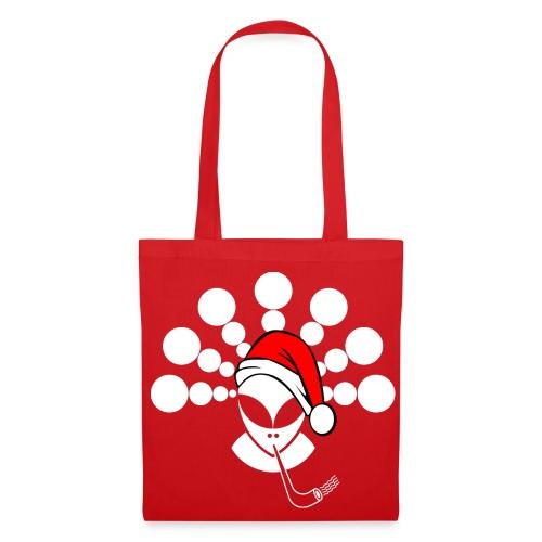 Christmas Alien White - Tote Bag