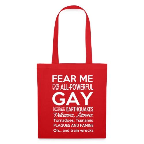 Lustiges Homosexuellen T-Shirt Englisch - Stoffbeutel
