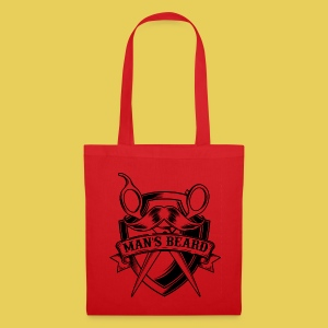 Man's Beard Scissors - Tote Bag