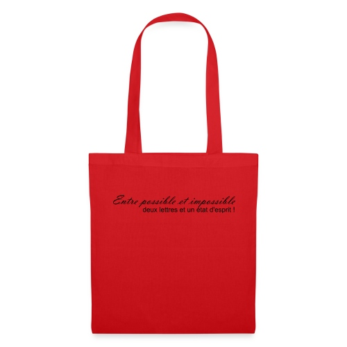 Possible et impossible - Tote Bag
