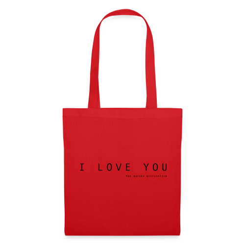 I Love You by The Nerved Corporation - Tote Bag