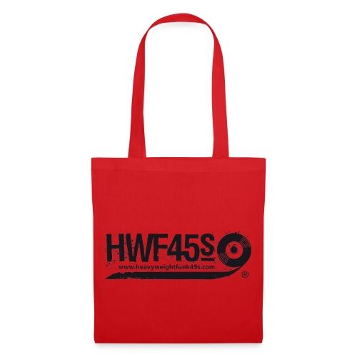HWF45S Retro Logo Black - Tote Bag