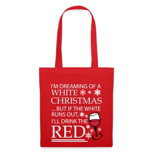 White Christmas - Tote Bag